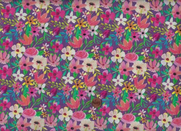 Forest Friends Blumen mauve