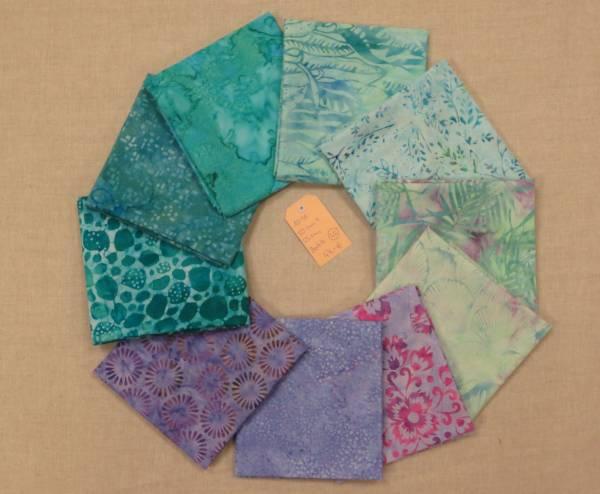 Stoffpaket Batik 45