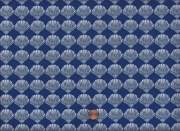 Tide Pool Muscheln blau-weiß