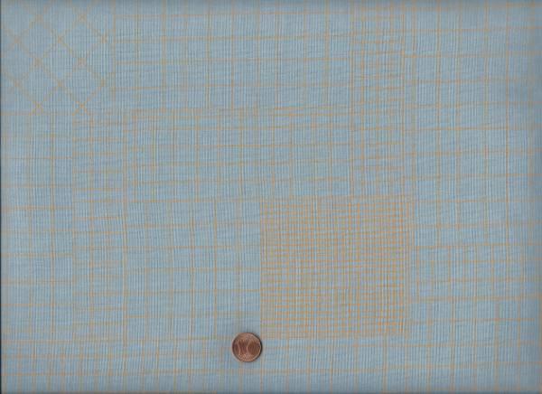 Carolyn Friedlander Doe Karo h.blau-gelb