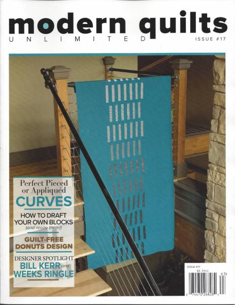 Modern Quilts unlimited Issue #17