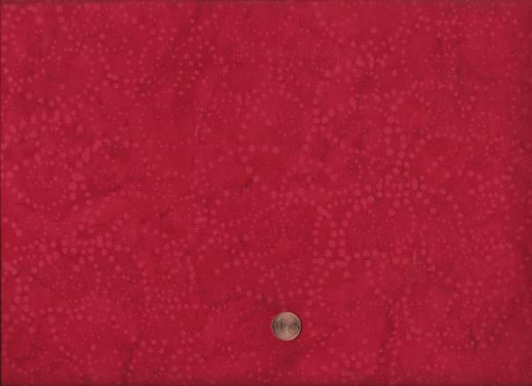 Batik Punkte rot