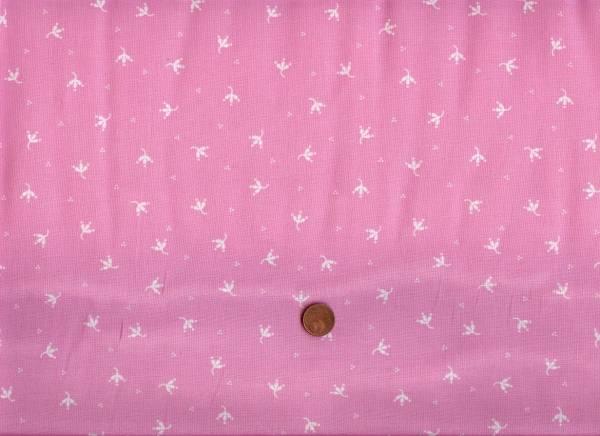 Sweet Broderie Blüten rosa