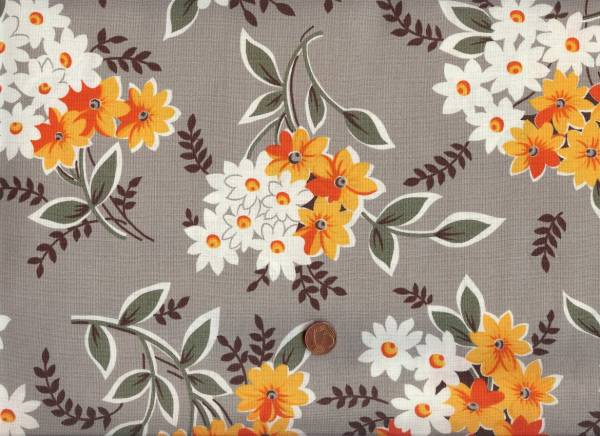Denyse Schmidt Flea Market Fancy Bouquet grey