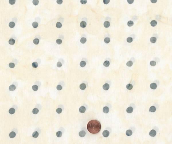 Victoria Findlay Wolfe Batik Punkte weiß-grau