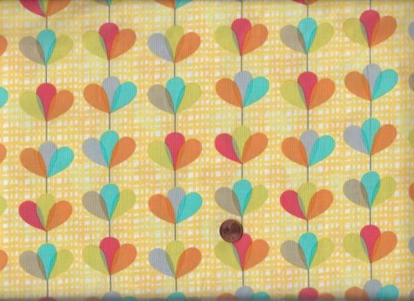 Petal Garland gelb-bunt