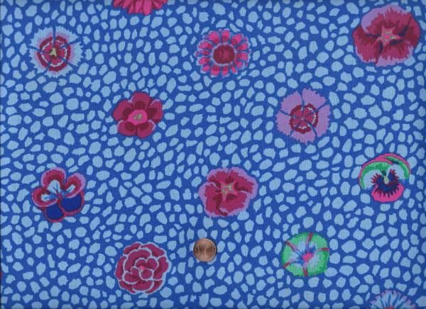 Kaffe Fassett Guinea Flower cobald gp59