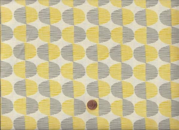 Market Road cream-gelb-grau Halbkreis