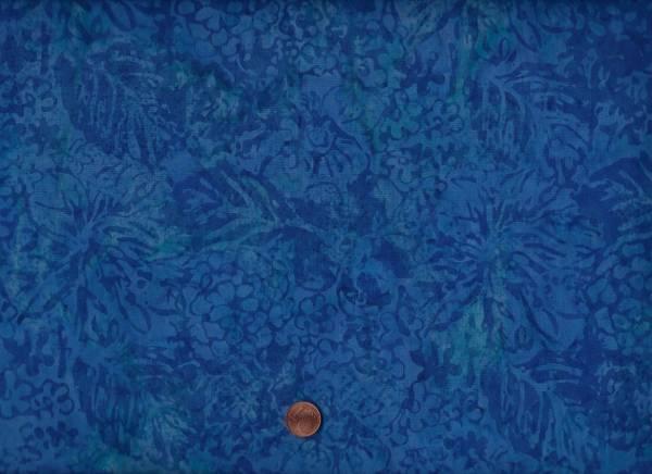 Batik Blätter + Blumen scuba