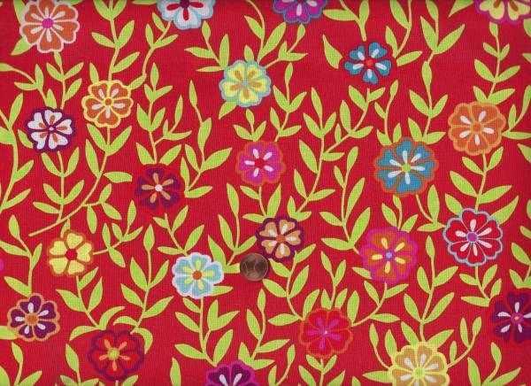 Kaffe Fassett Busy Lizzy gp175 red