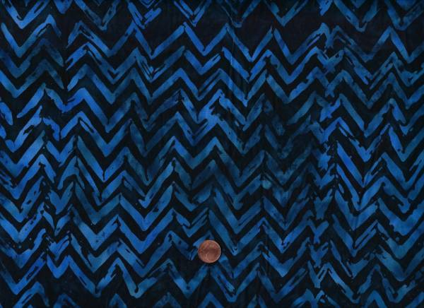Batik Chevron deep sea