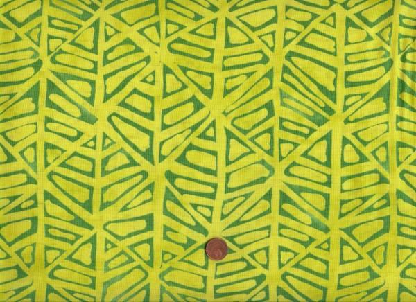 Malka Dubrawsky Simple Marks Furrows kiwi-grün