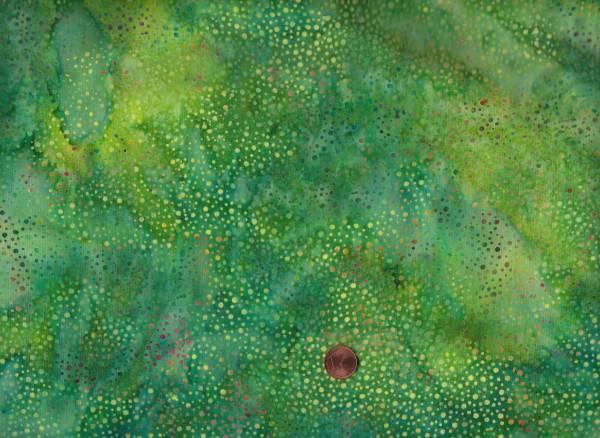 Batik Dots 014 grün