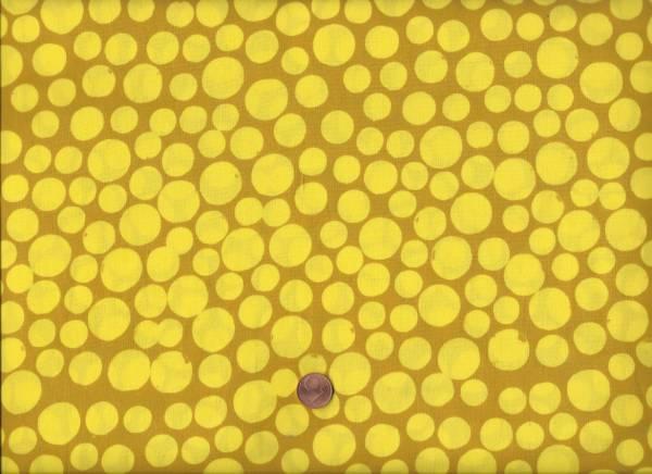 Me & you Batik Punkte Mustard