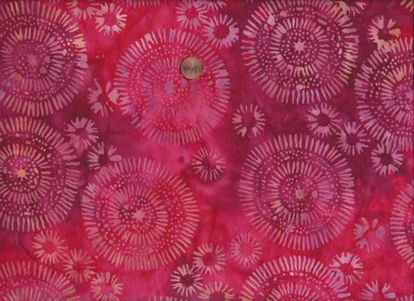 Batik Mandala rot