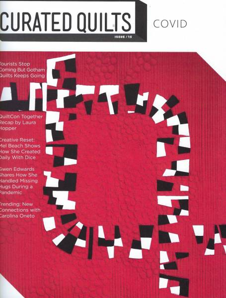 Curated Quilts Covid issue 15