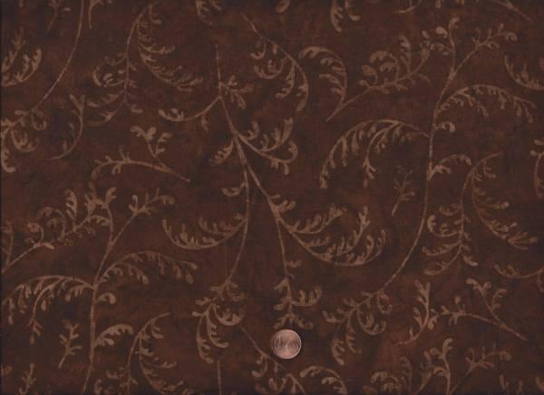 Batik Zweige braun