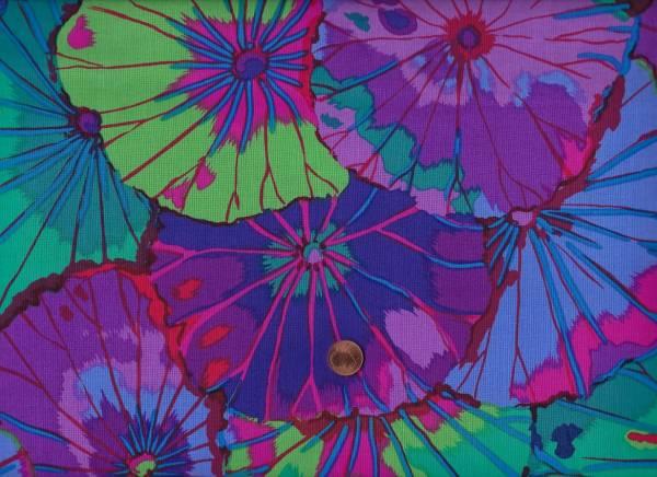 K. Fassett Lotus Leaf gp 29 purple