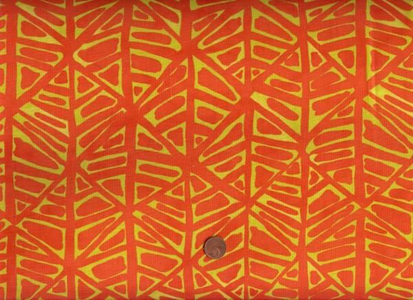 Malka Dubrawsky Simple Marks Furrows orange-kiwi