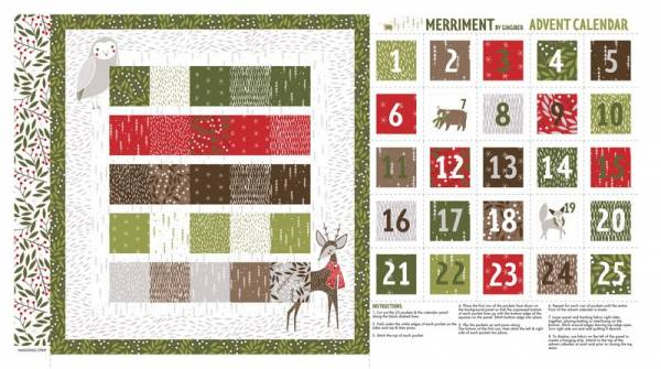 Merriment Gingiber Adventkalender