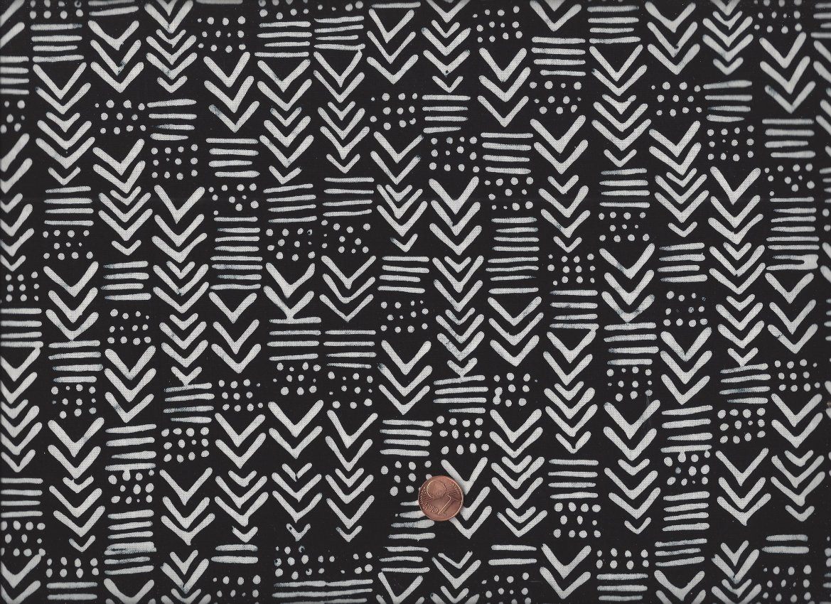 me you batik pfeile schwarz wei me you batiks stoffe quilt cabin shop. Black Bedroom Furniture Sets. Home Design Ideas