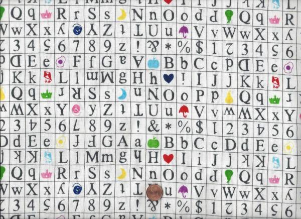 Sarah Fielke Wordplay Scrabble weiß-bunt