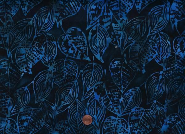 Batik Blätter deep sea