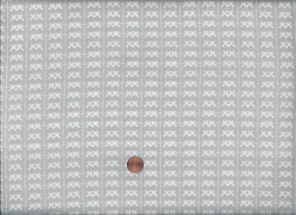 Baseline XXX grau-weiß