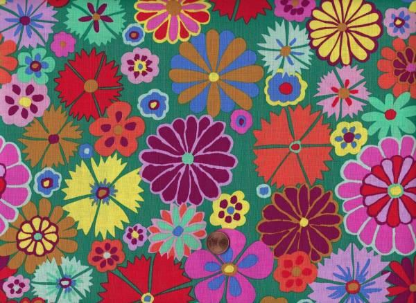 Kaffe Fassett Artisan Folk Flower kf07 multi