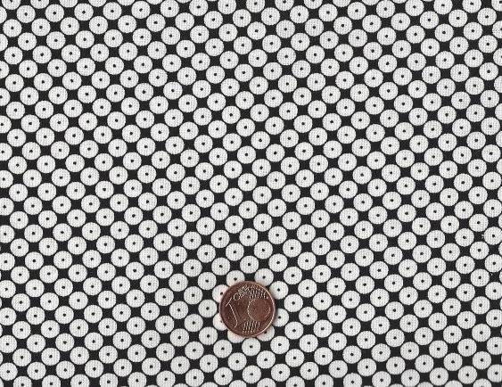 Dots Right Punkte schwarz-weiß
