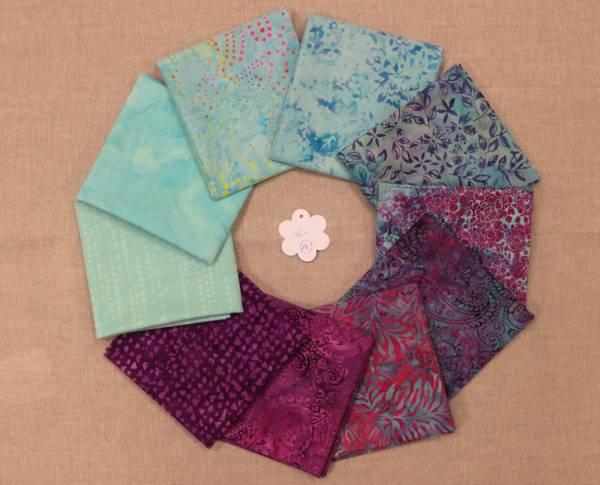 Stoffpaket Batik 18