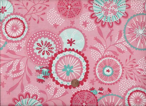 Coral Queen Of The Sea Pink Floral