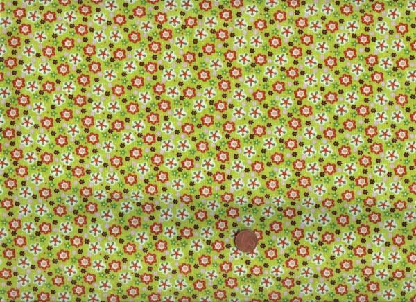 Lovely Blüten grün-bunt