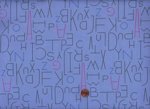 Moji Palette Buchstaben flieder