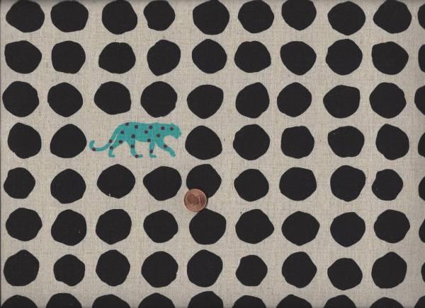 Landscape Punkte Panther cream-schwarz