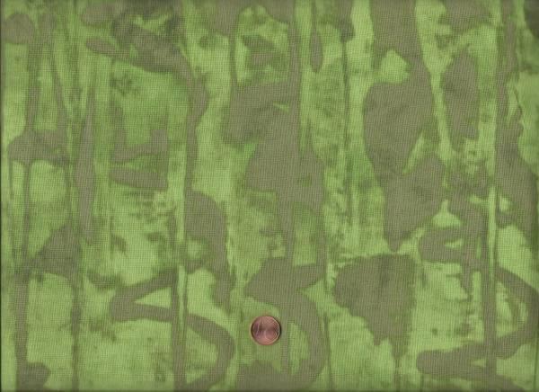Marcia Derse Alphabet Runes green