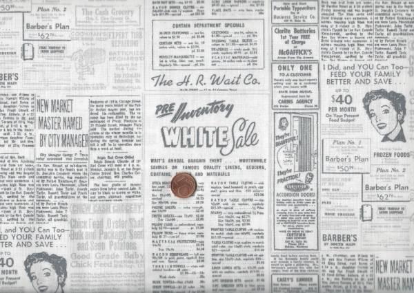 Brigitte Heitland Zen Chic Modern Background Papers Zeitung weiß-grau