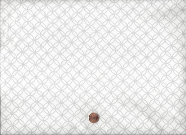 Avalana Jersey Sashiko weiß-grau
