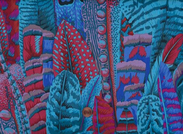 Philip Jacobs Feathers turquoise