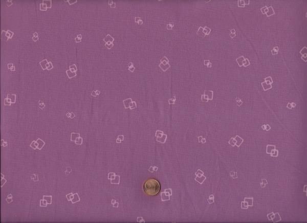 Batik Quadrate altrosa