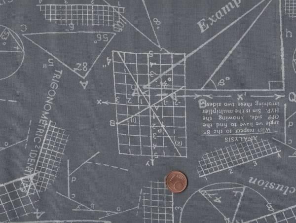 Brigitte Heitland Modern Background Ink Geometric dunkel grau