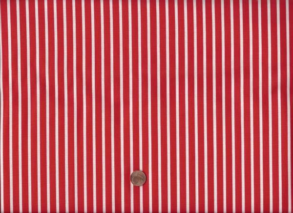 Daysail Streifen rot-weiß
