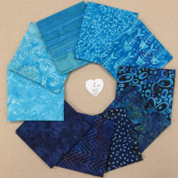 Stoffpaket Batik 25