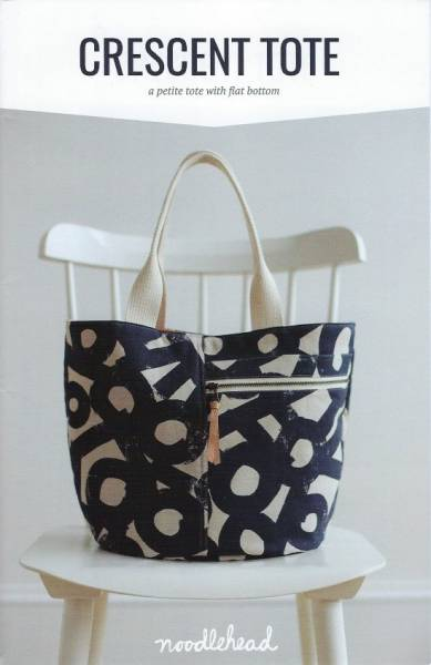 Anleitung Crescent tote by noodlehead