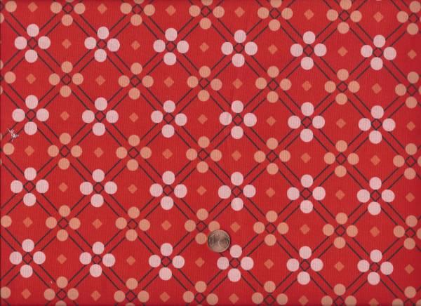 Picnic Karo Punkte rot