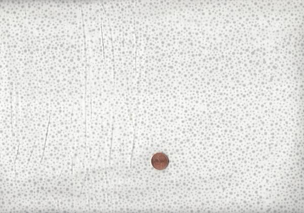 Batik Dots 125 weiß-grau
