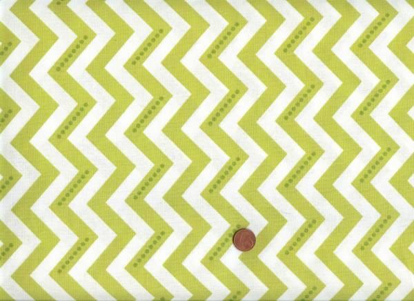 Simply Color grün-weiß Zig-Zag