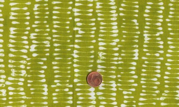 Malka Dubrawsky a stitch in color grün-weiß Striche