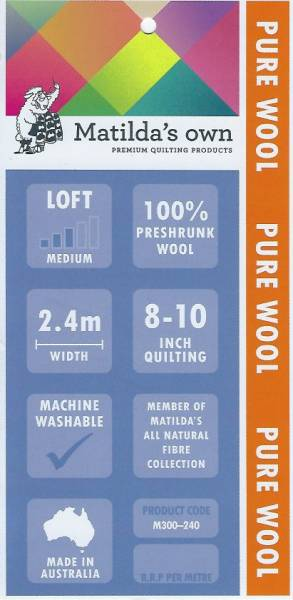 Vlies Matilda Pure Wool
