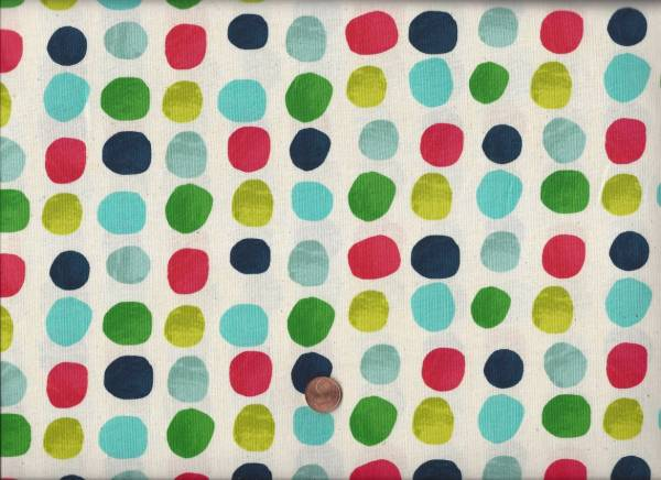 Noel Painted Dots blue